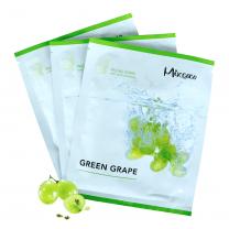 vliesmasker groene druiven