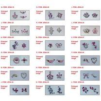 Nagelstickers Diamant