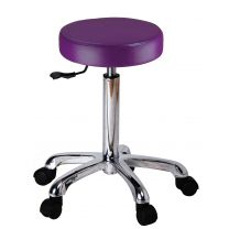 Tabouret Rond Paars